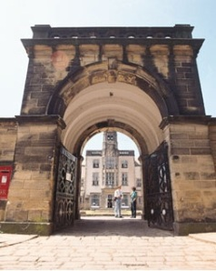 The Gateway to Devonshire Hall